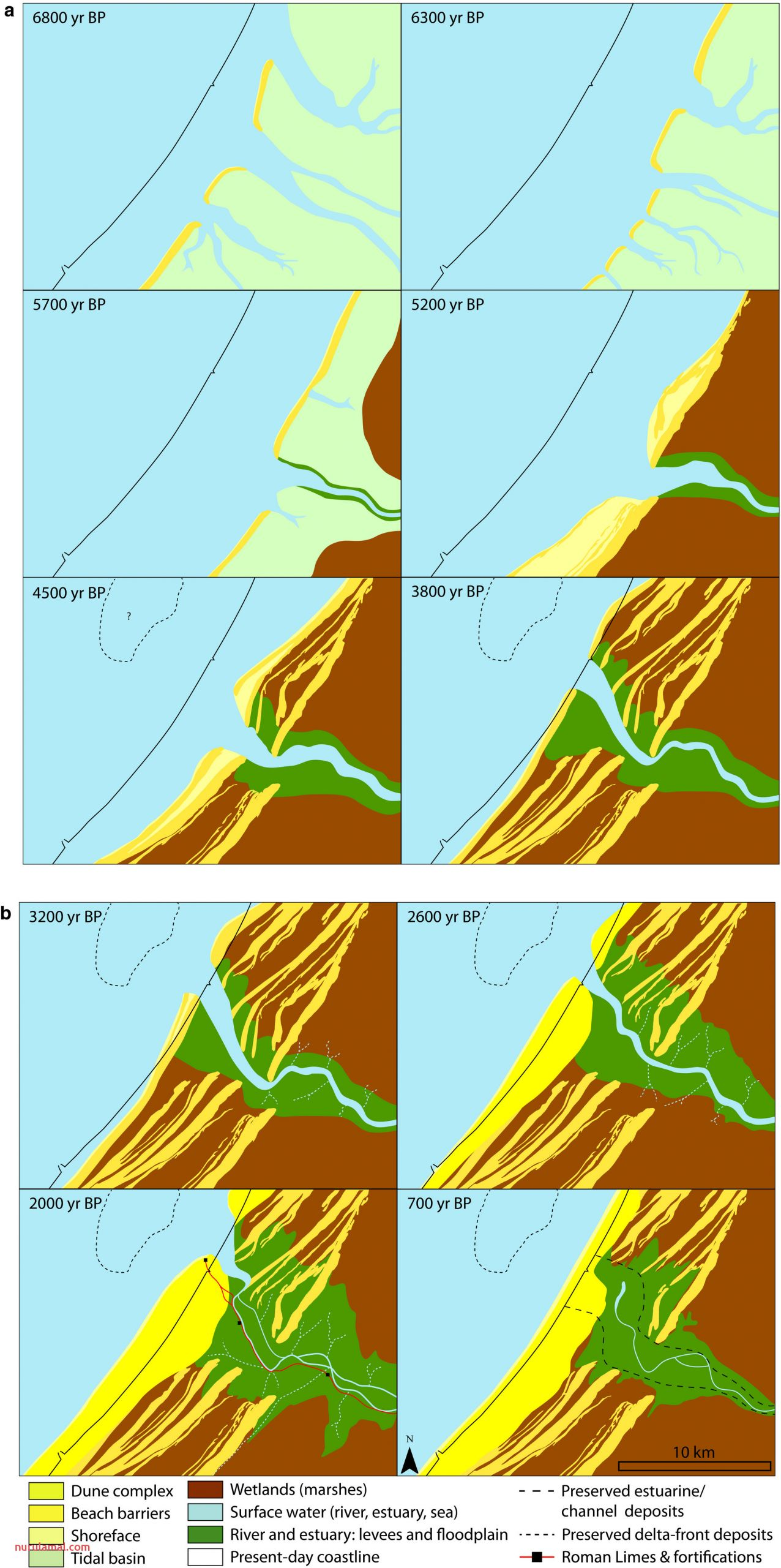 Long‐term Evolution Of the Old Rhine Estuary Unravelling