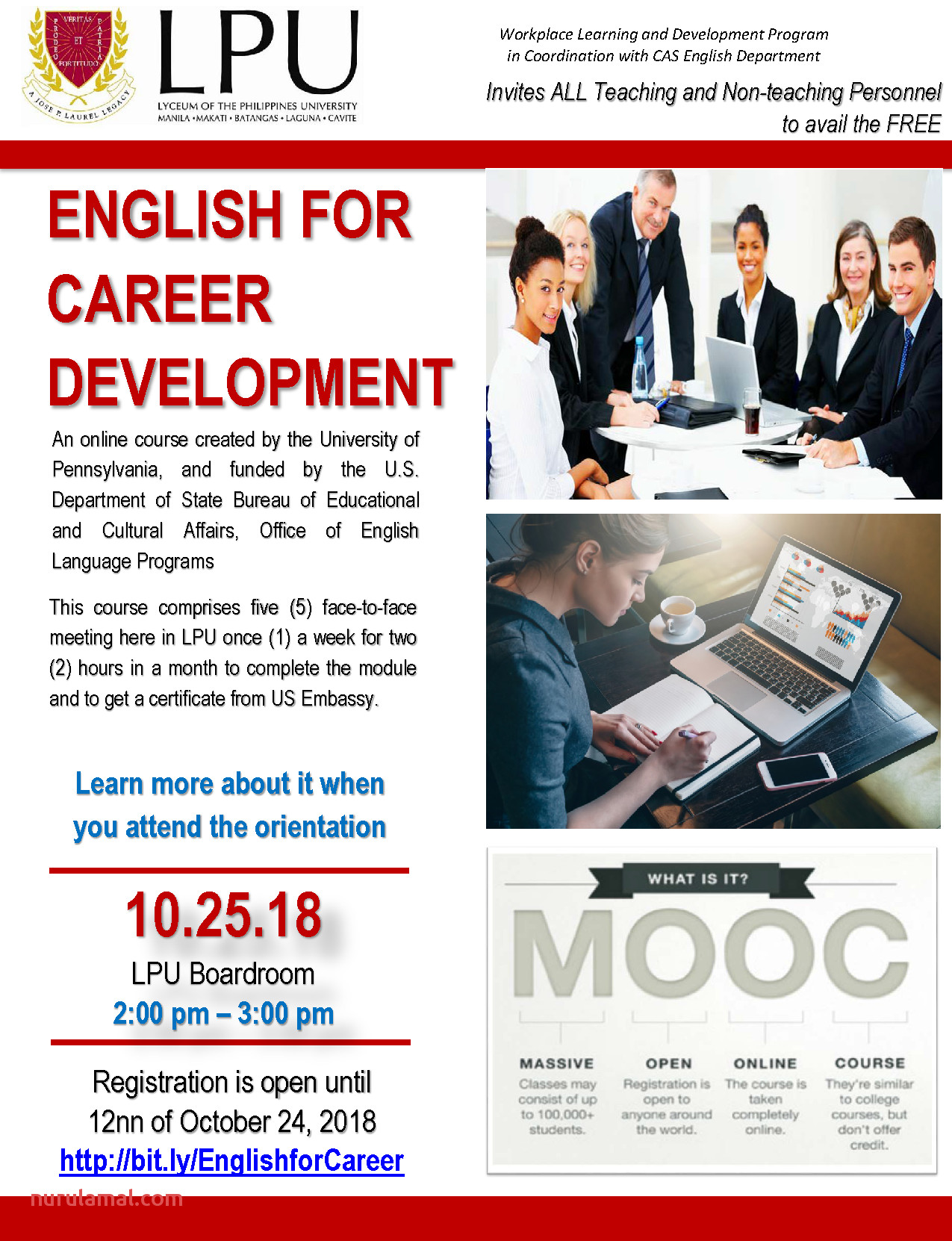 Lpu Manila Campus English for Career Development