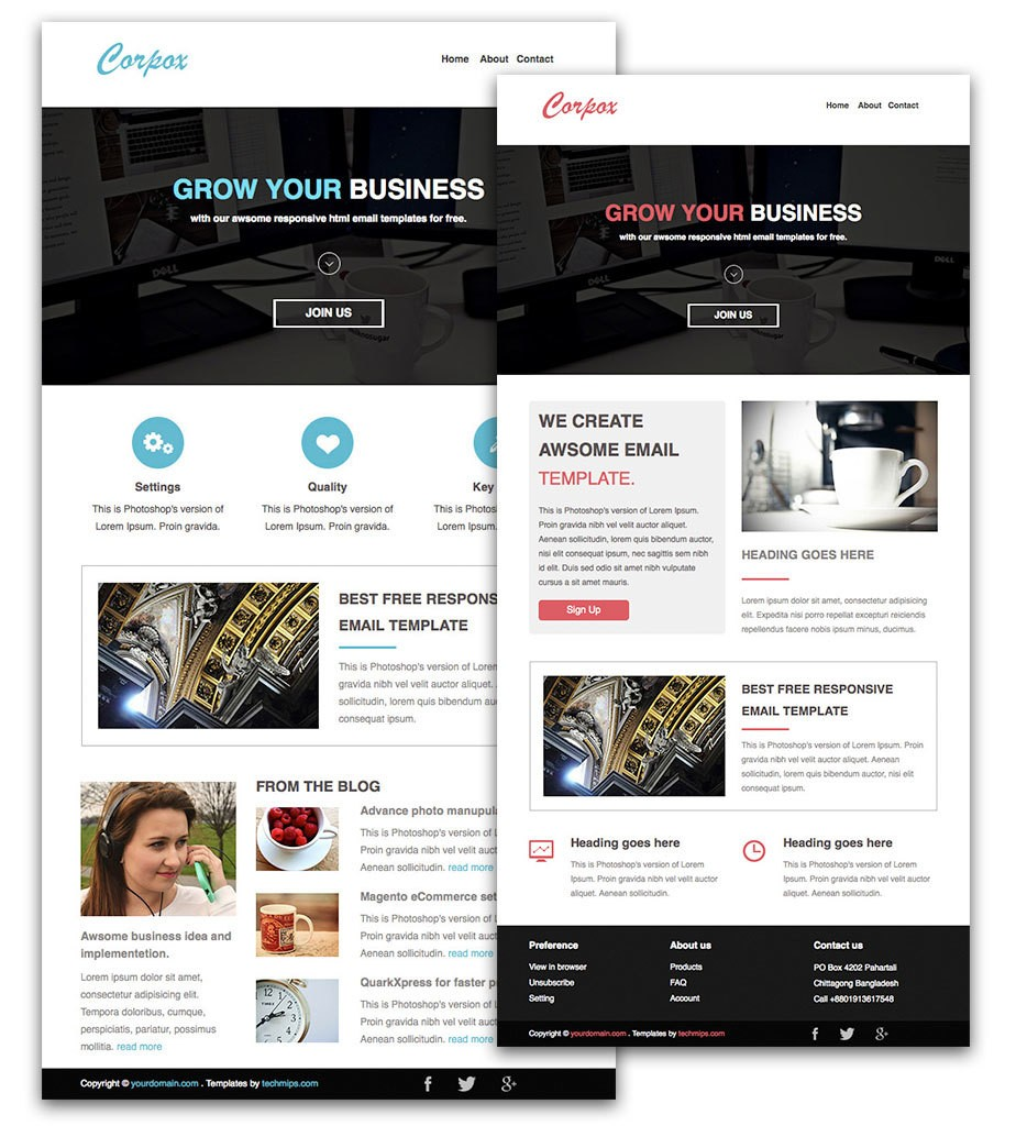 Mail Chimp Templates
