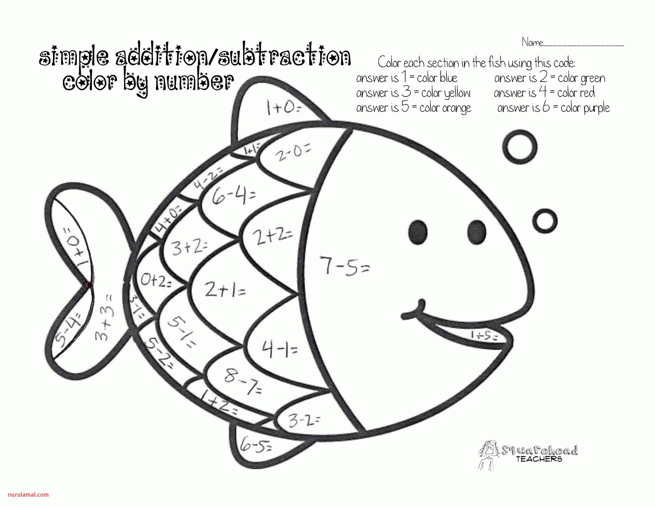 Math Coloring Pages for Kindergarten Hd Football