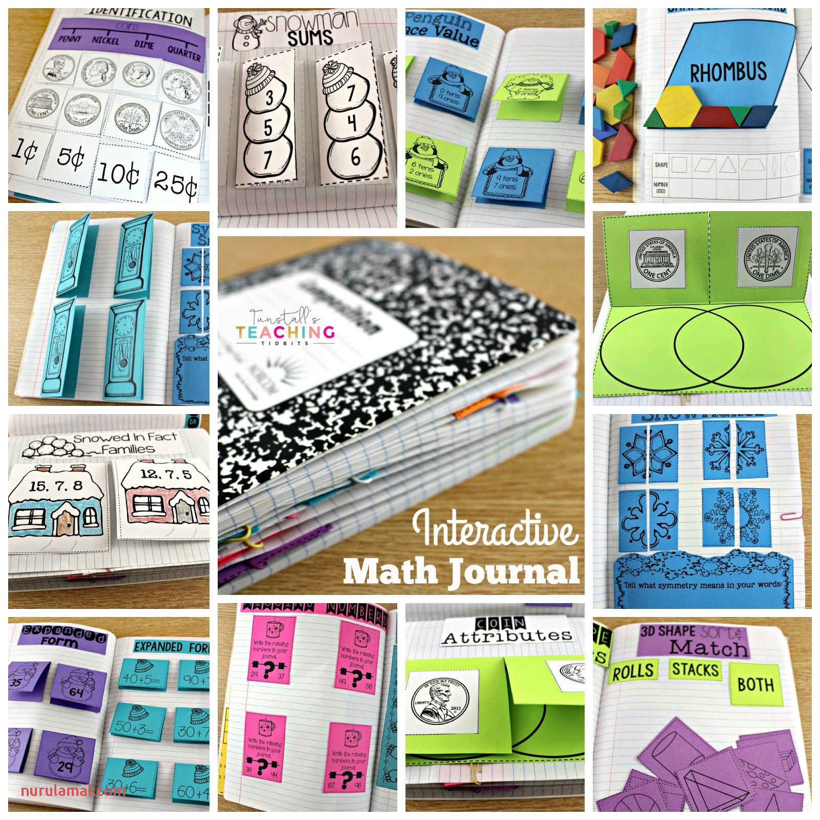 Math Journals for First Grade Tunstall S Teaching Tidbits