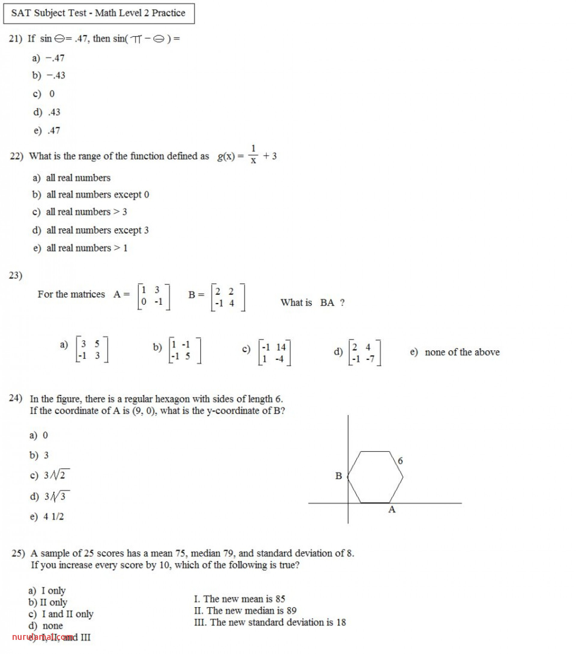 Math Worksheets Rounding Numbers Nearest 10th Marvelous