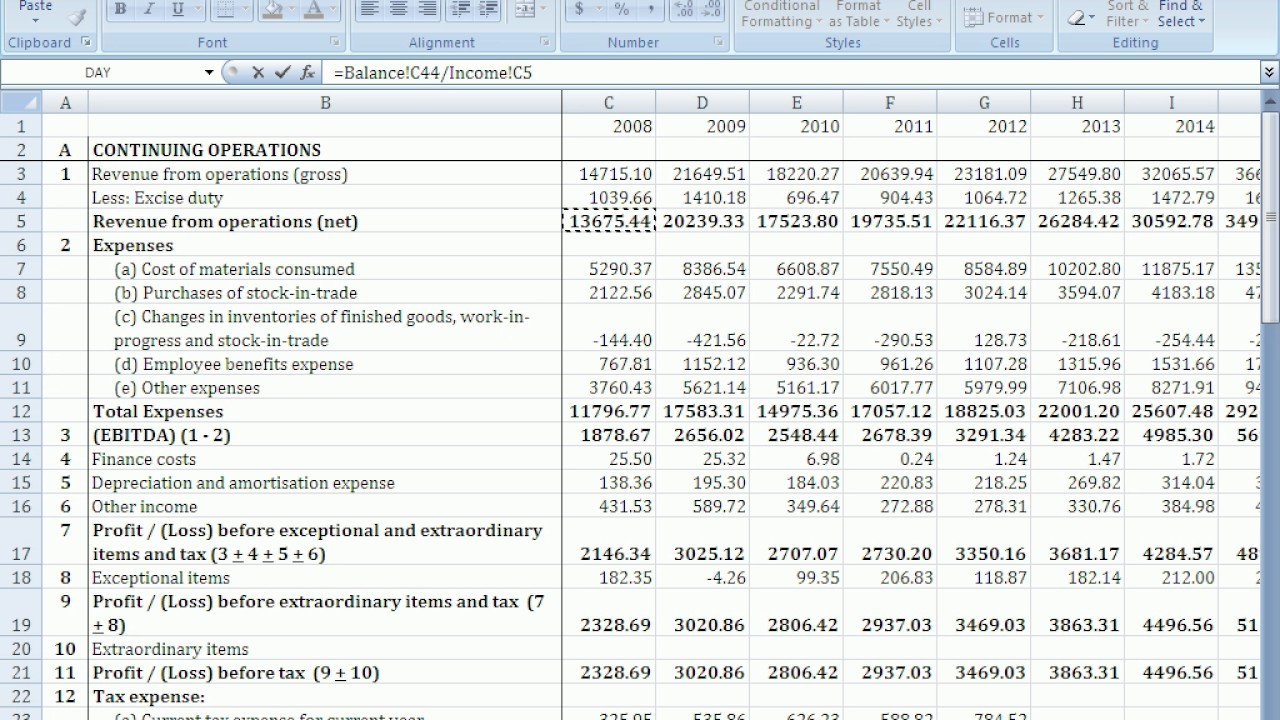 Maxresdefault Statementle Cash Flow For Startup Business