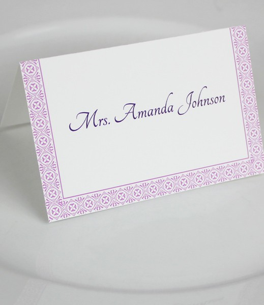 Microsoft Word Wedding Place Card Templates Download Print