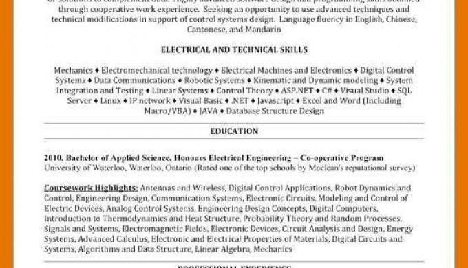 Modeling Resume No Experience Formsresume