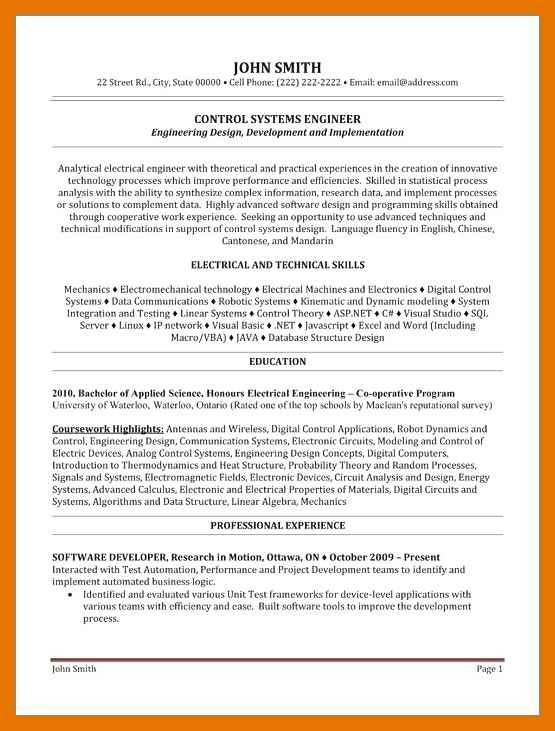 Modeling Resume No Experience
