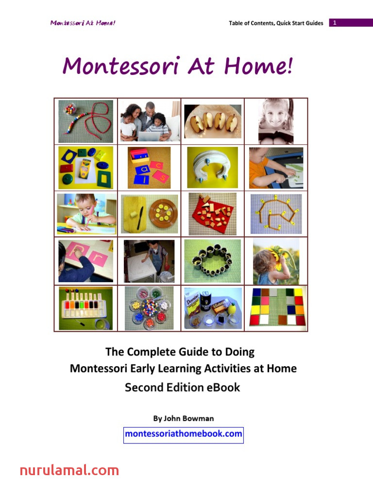 Montessori at Home Second Edition 1