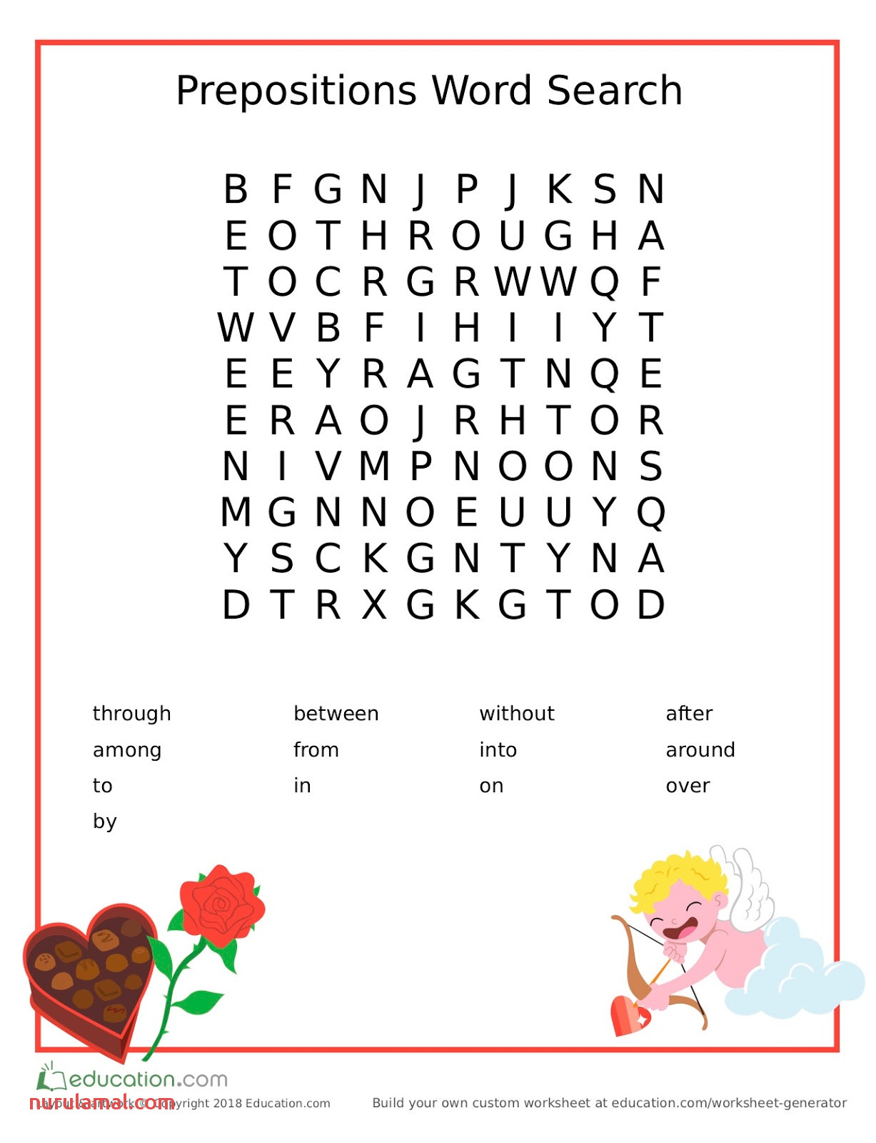 Motherhood Moment Fun Freetime Word Search From Education
