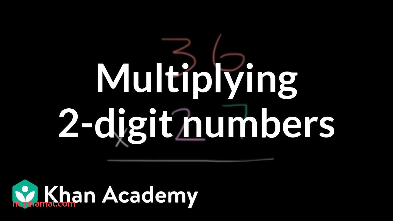 Multiplying 2 Digit Numbers Video