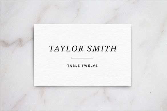 Name Card Templates Free Printable Word Pdf Psd