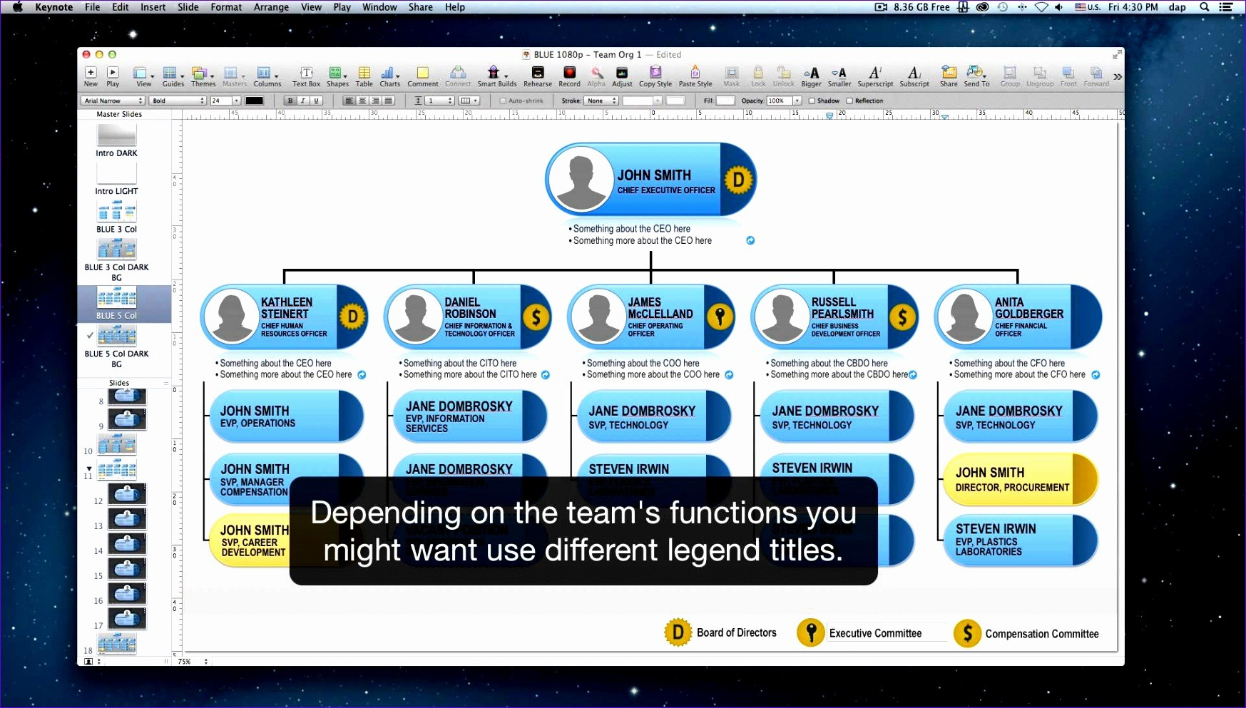 Organization Chart Template Excel Exceltemplates