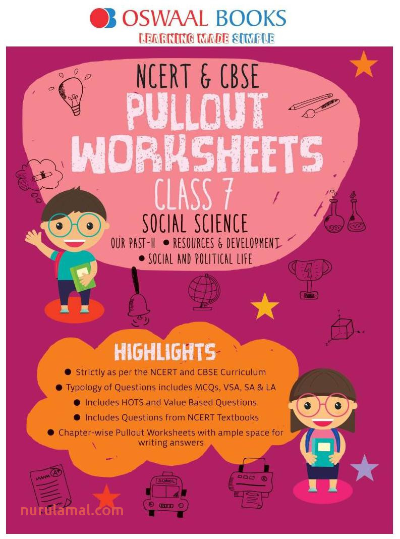 Oswaal Ncert & Cbse Pullout Worksheets Class 7 social Science Book for March 2020 Exam Book