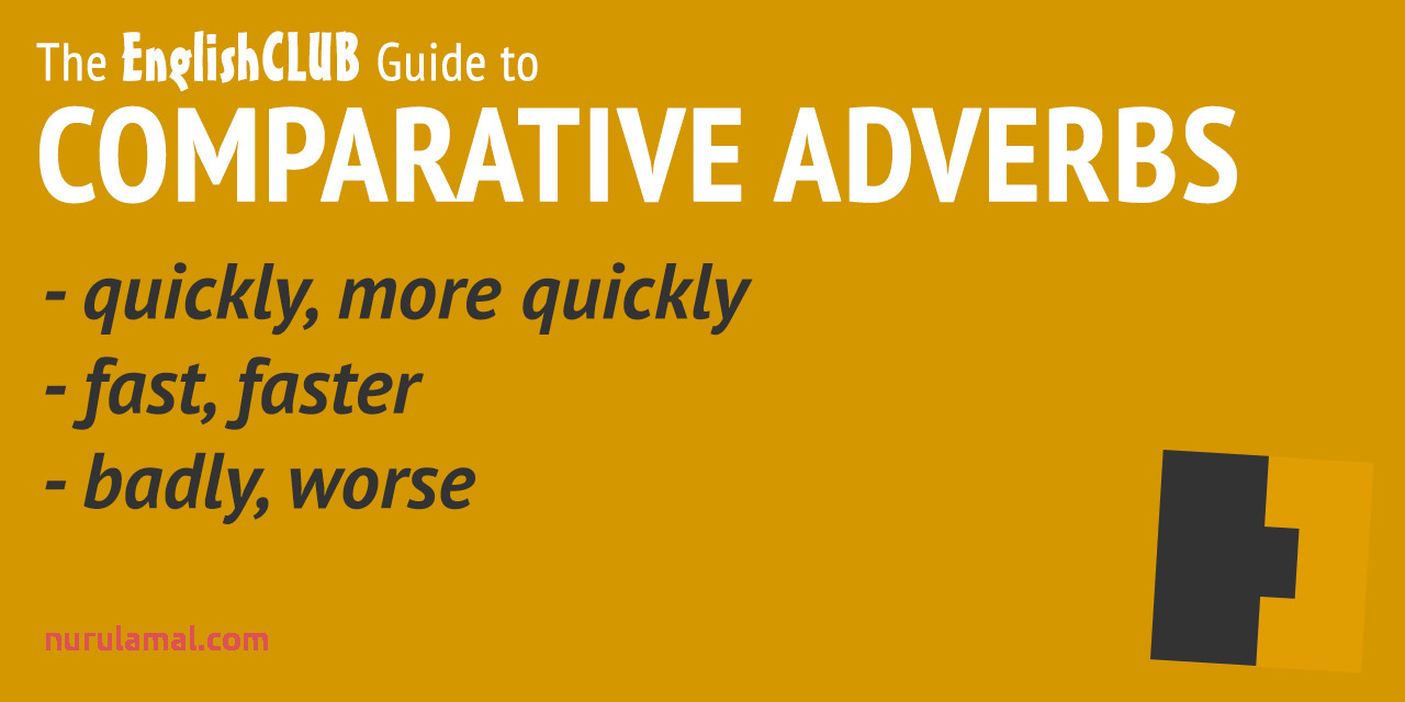 parative adverbs