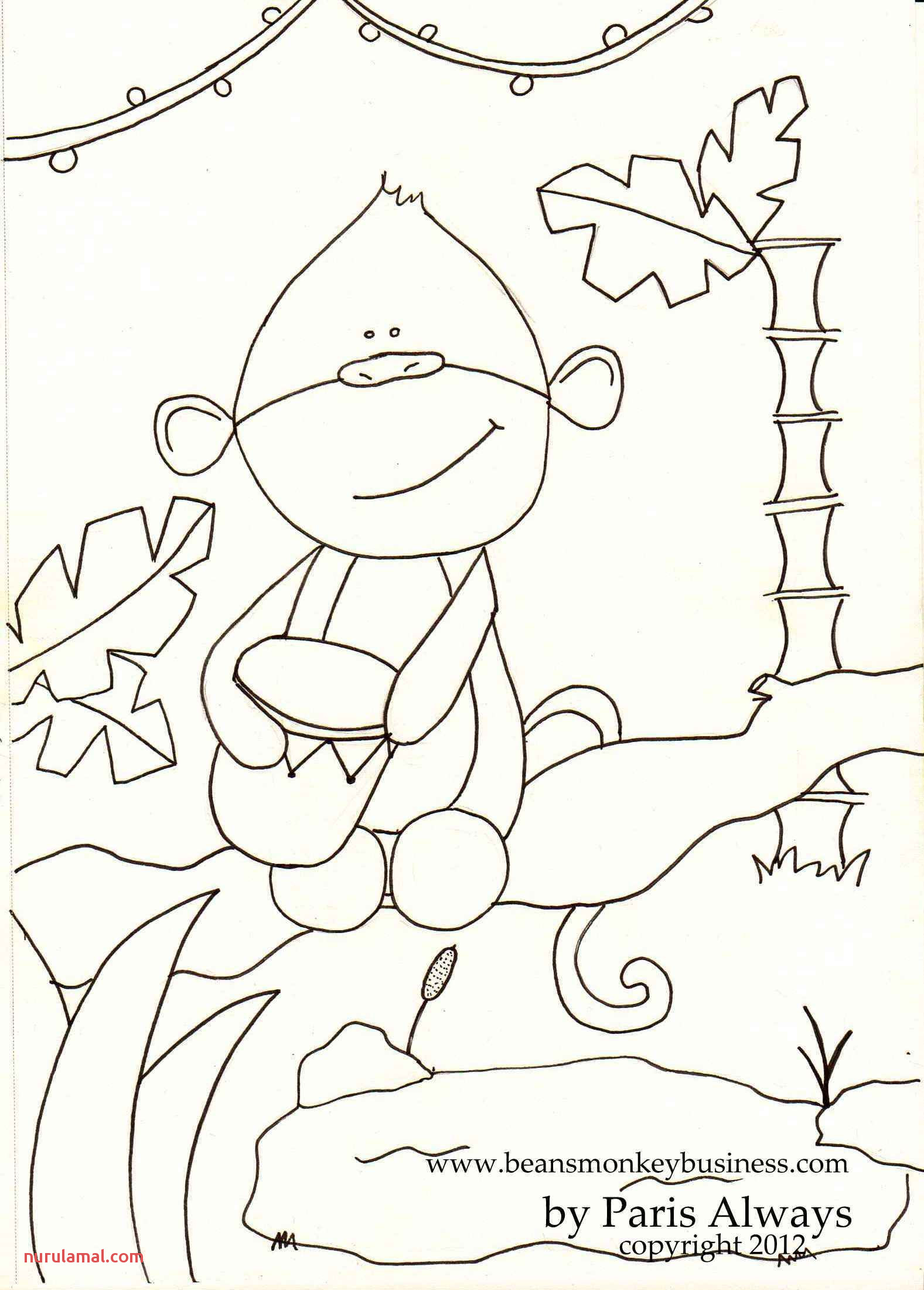 Paris Did A Coloring Page for Bean and Kids to Color and Use