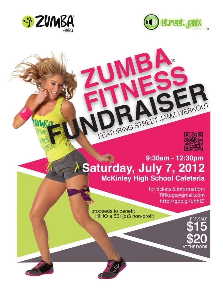 Pics For Zumba Fundraiser Flyer Template