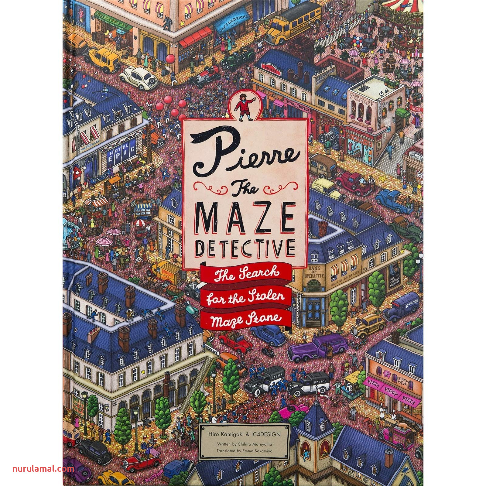 Pierre the Maze Detective the Search for the Stolen Maze