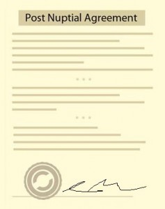 Post Nuptial Agreement Free Agreement Form And Sample