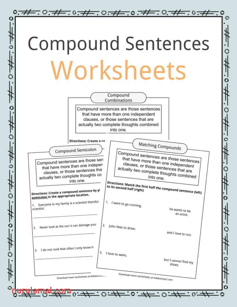 Pound Sentences Worksheets Examples & Definition for Kids
