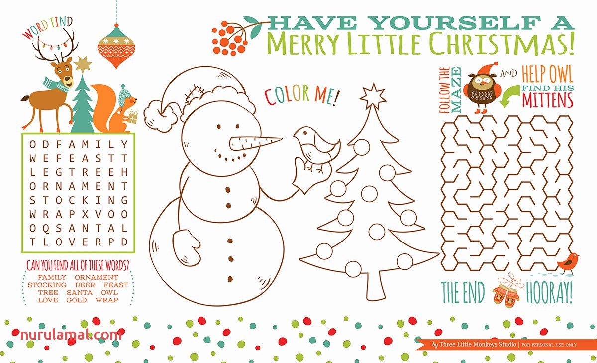 Printable Activities for toddlers Beautiful Winter Mittens