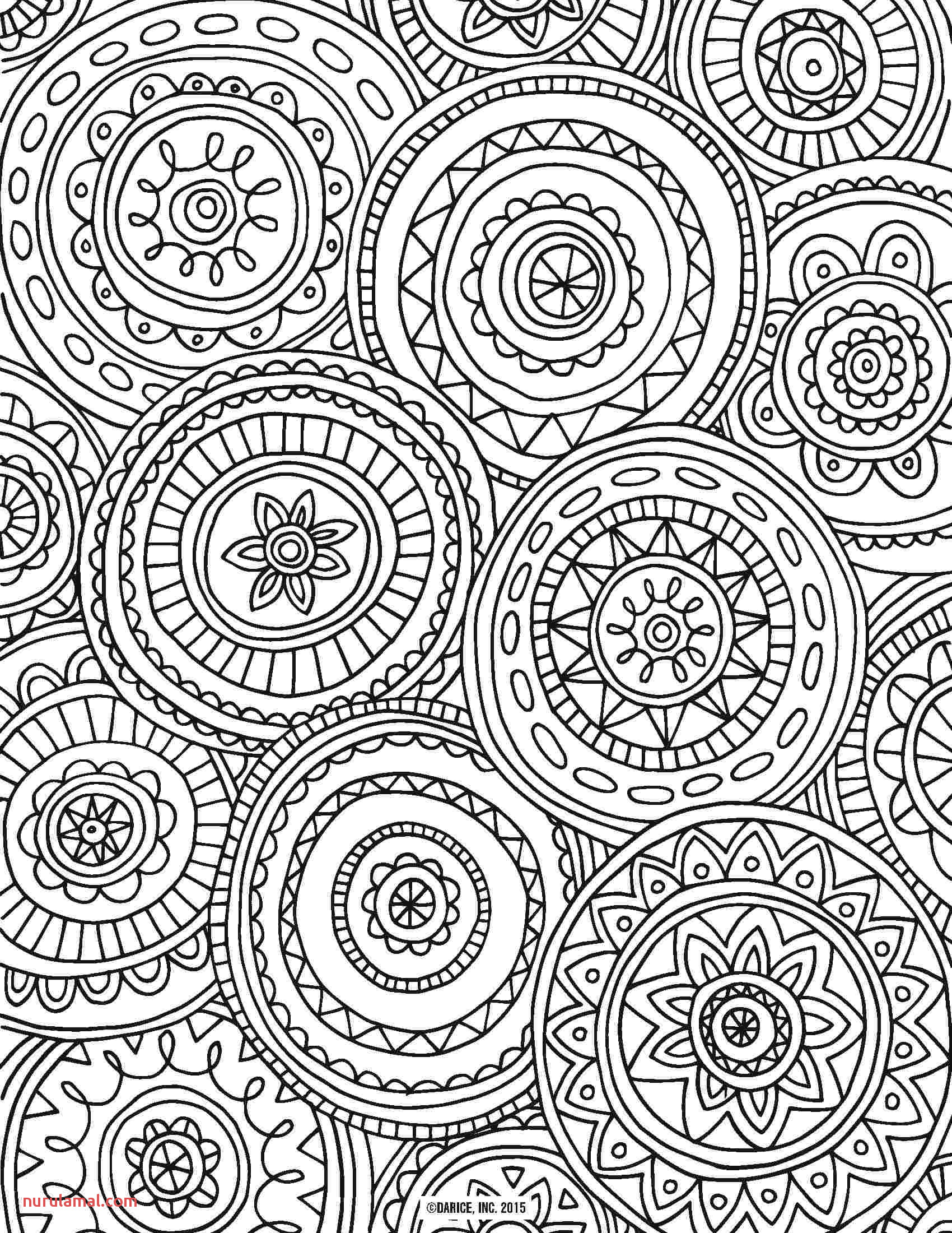 Printable Coloring Worksheets for Adults Adult Coloring