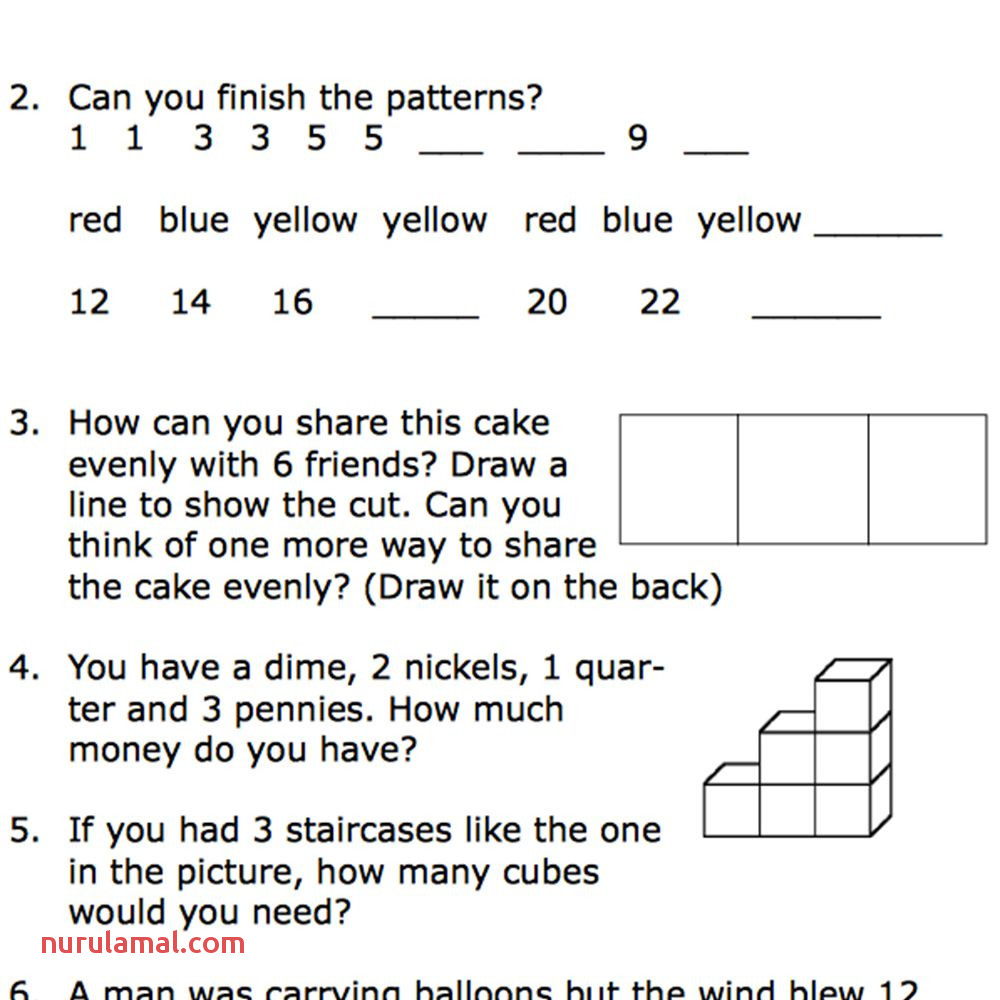 Printable Second Grade Math Word Problem Worksheets