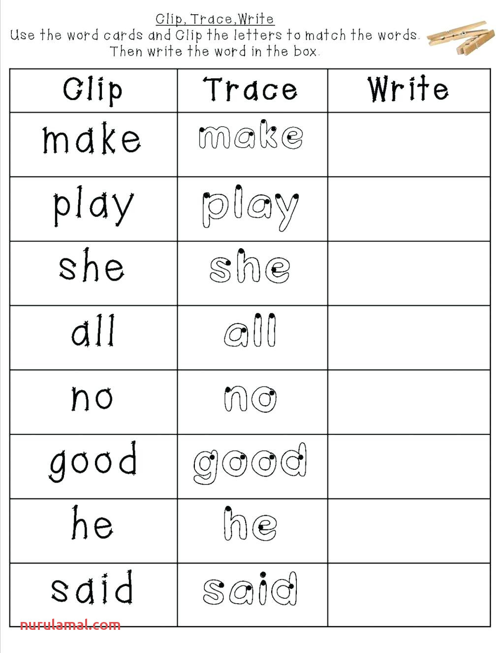 Printable Sight Word Books that are Clean