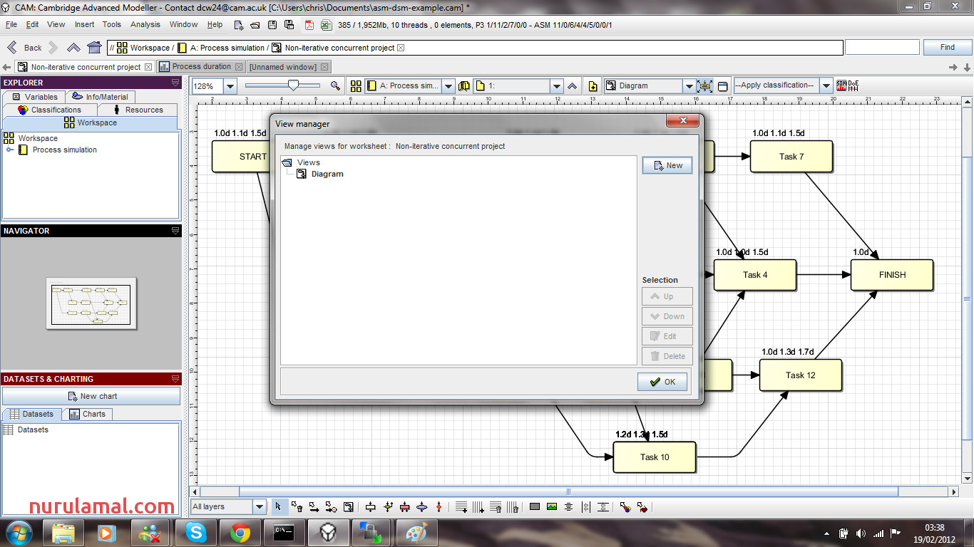 Process Dsm Simulation Using asm
