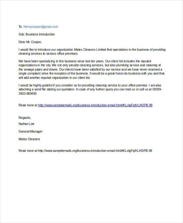 Professional Email Examples Pdf Doc