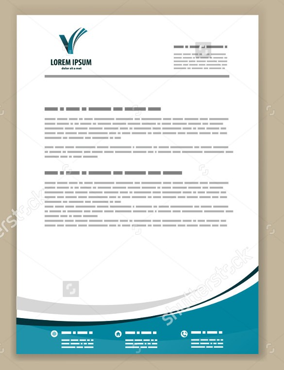 Psd Letterhead Template Free Psd Format Download