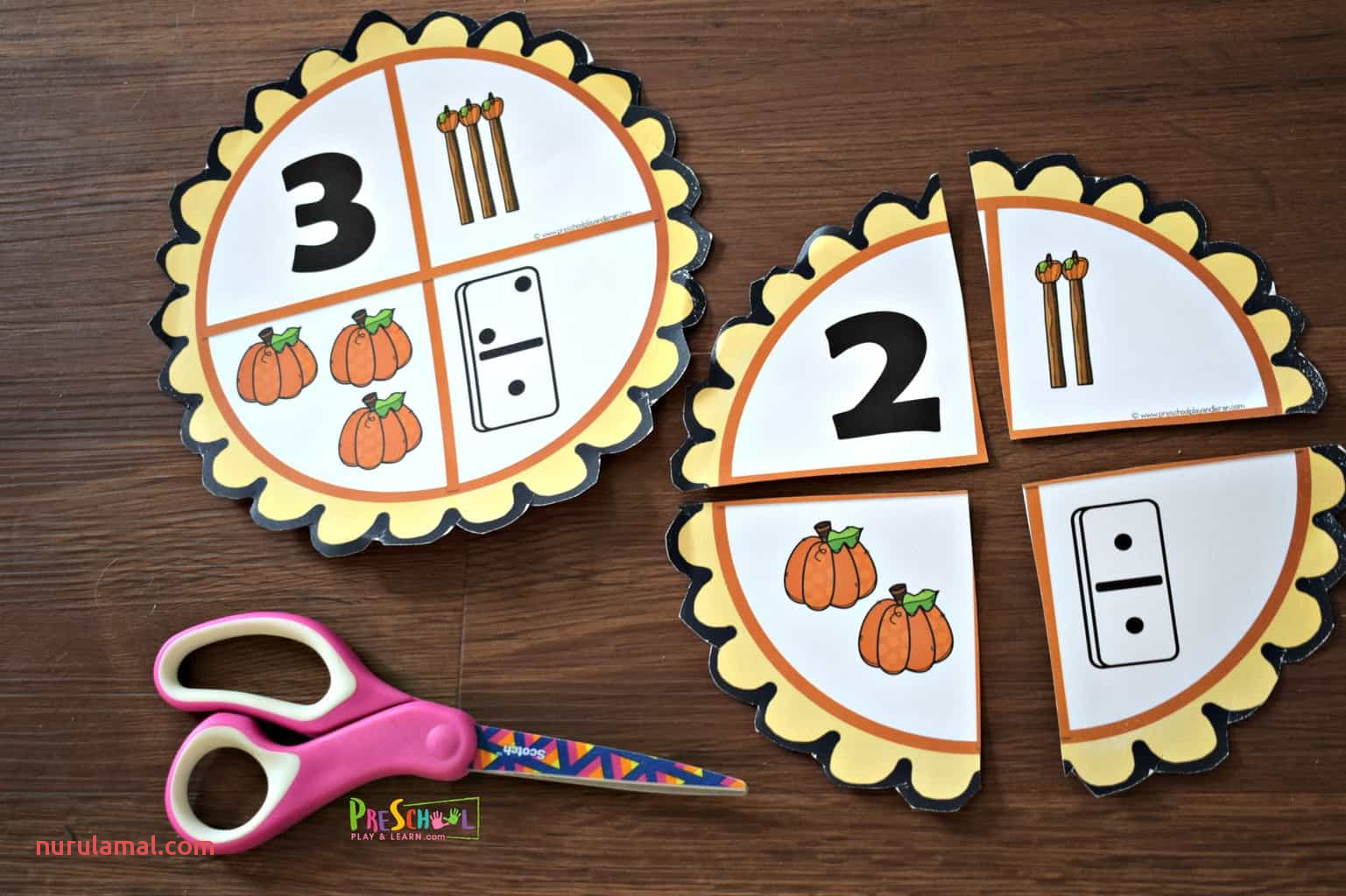 Pumpkin Pie Number Sense