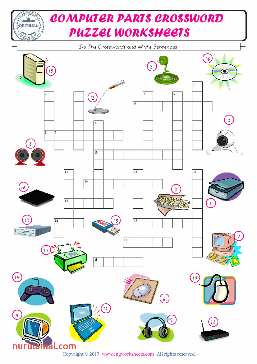 5 plete The Crossword Using The puter Parts