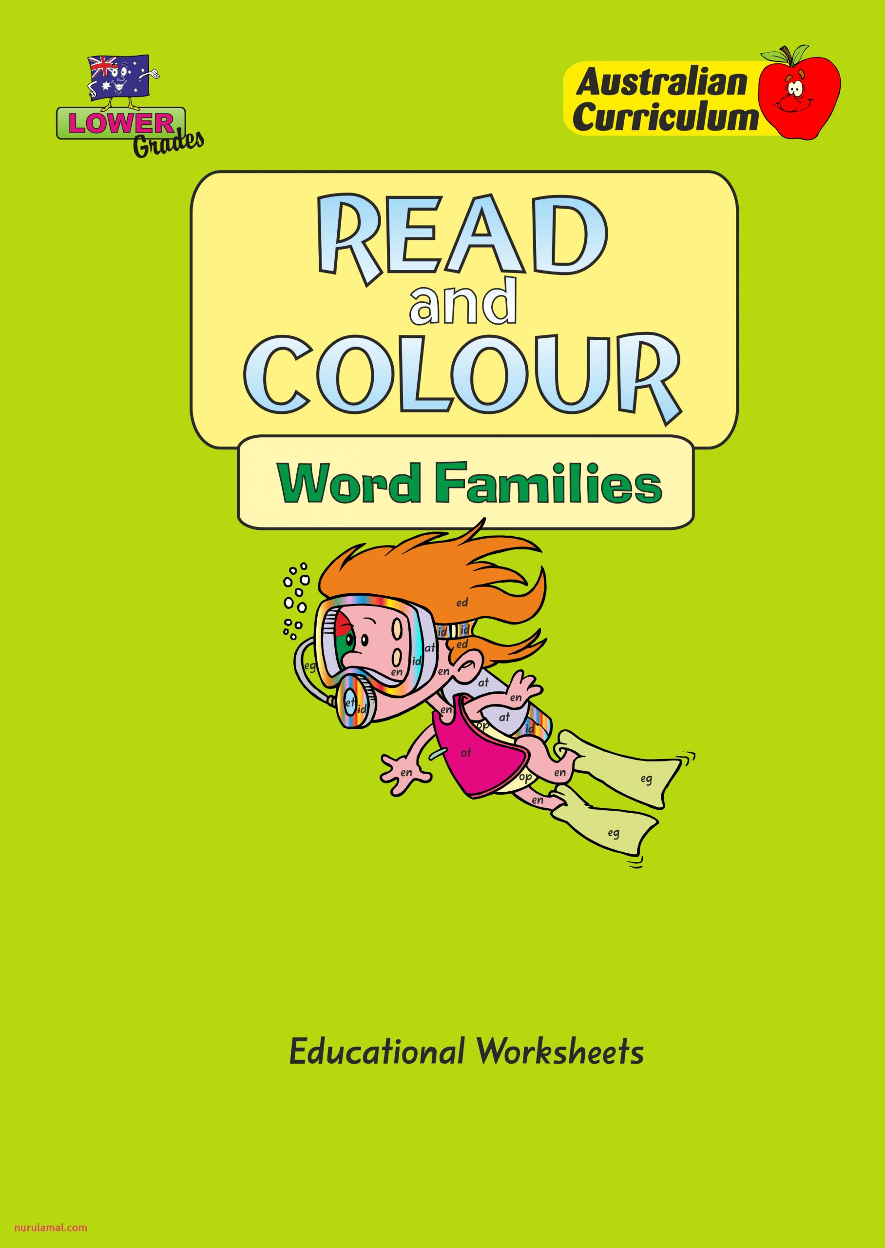 Read and Colour Word Families