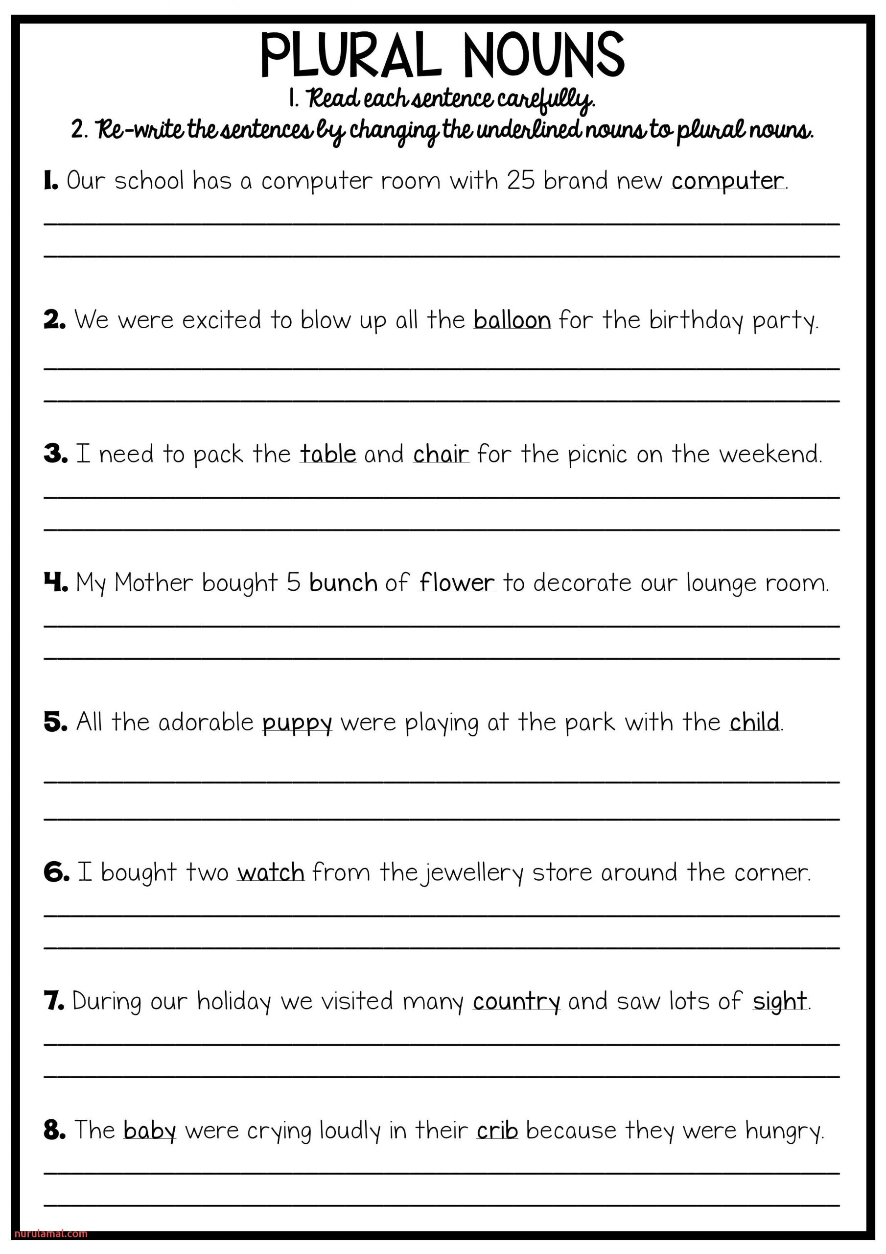 Reading and Grammar Pack No Prep Printables
