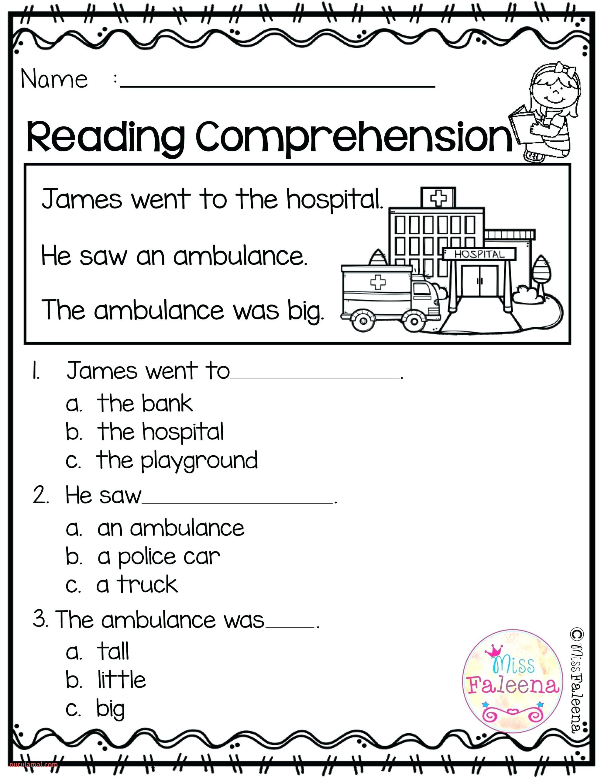 Reading Worskheets 3rd Grade Reading Worksheets