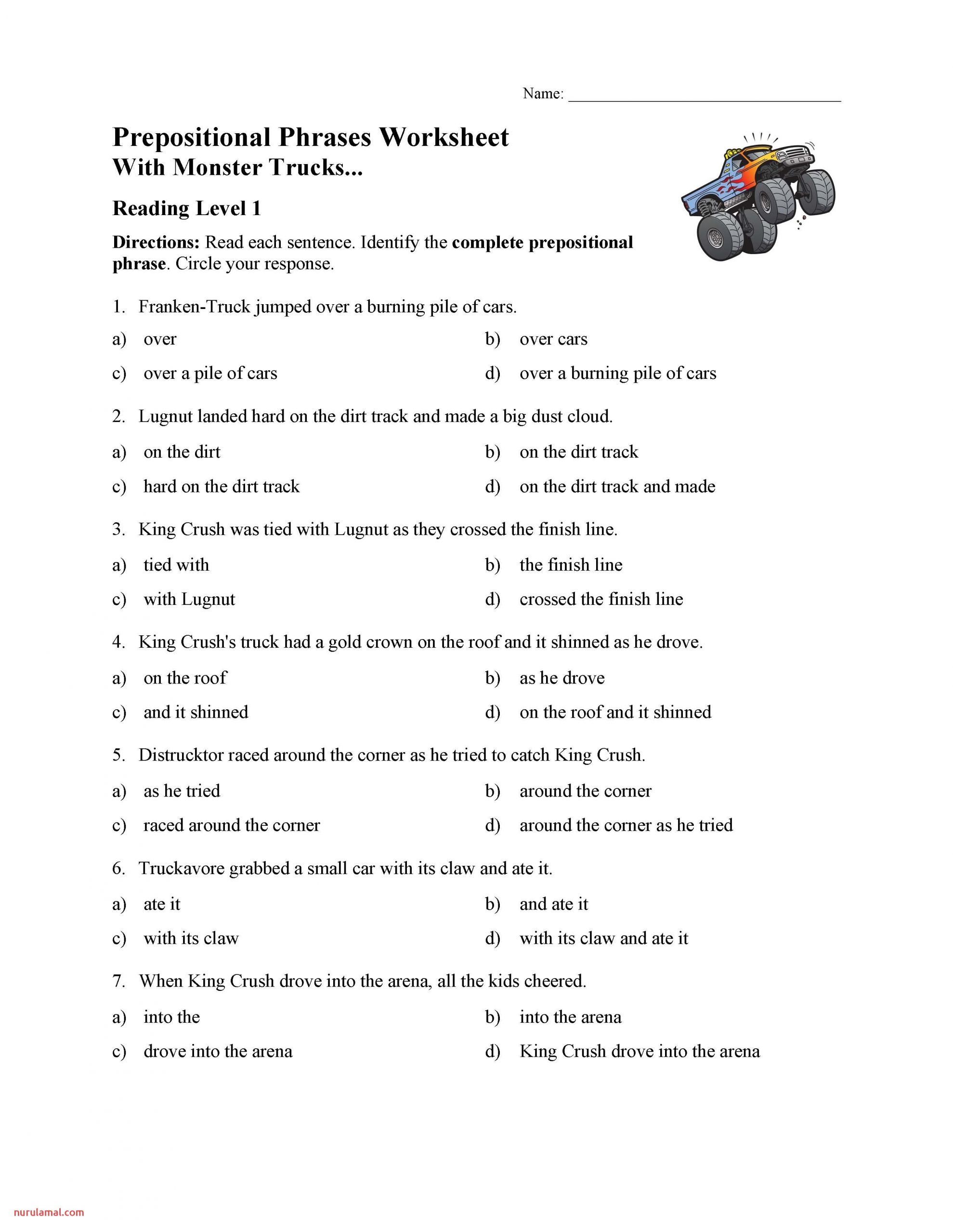 prepositional phrases worksheet reading level preview 5th grade decimal division word problems thanksgiving math coloring worksheets addition tracing templates for toddlers prehension