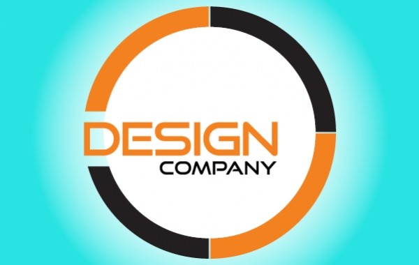 Rounded Design Company Logo Template Free Vector Logo