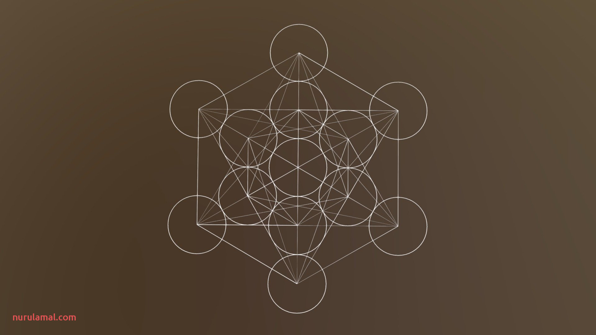 Sacred Geometry Metatron S Cube Download Free 3d Model by