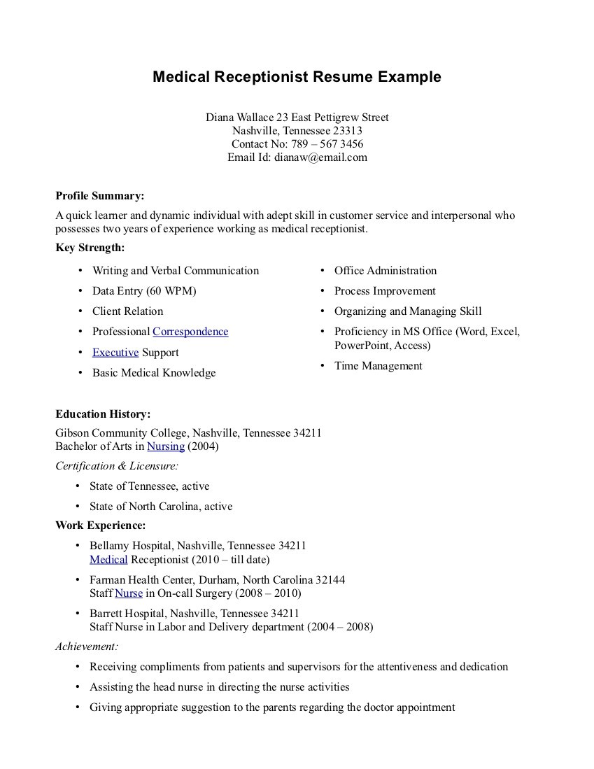 Sample Cover Letter For Medical Office Assistant Templates