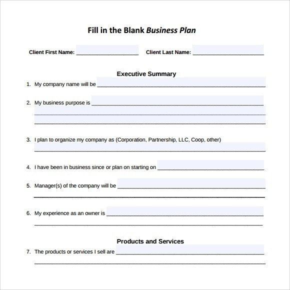 Sample Executive Summary Business Plan Pdf Cualwork.org