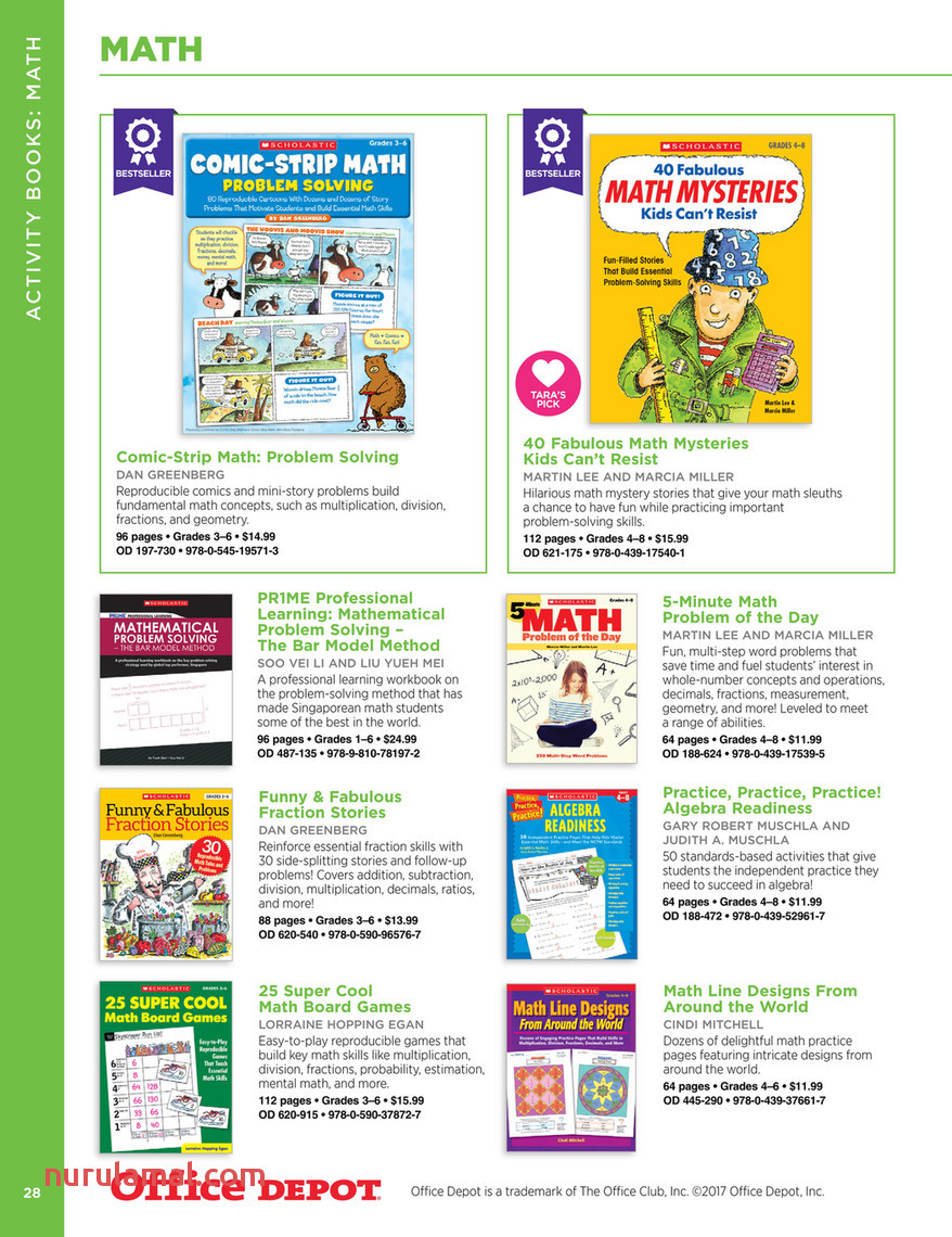 Scholastic Teacher S Resources Page 30 31