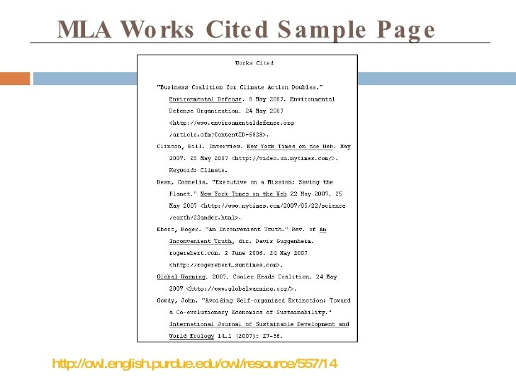 Search Results For Mla Works Cited Page Calendar