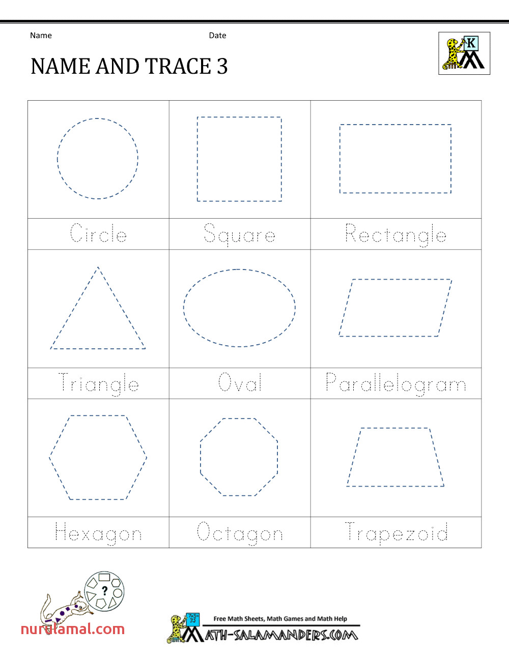 shape cing worksheets kindergarten kids free printing printable for preschoolers pdf name