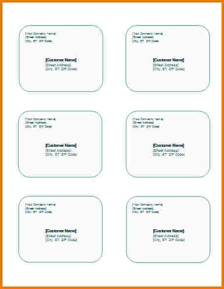 Shipping Label Template Word Authorization Letter Pdf
