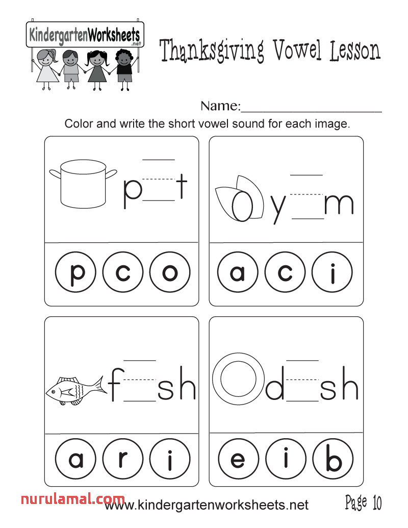 Short Vowel sounds Worksheets Inspirations Coloring