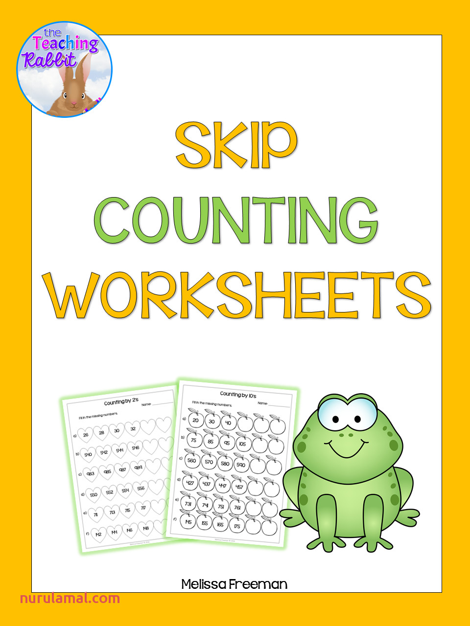 Skip Counting by 3 S Worksheets for Kindergarten Count by 3