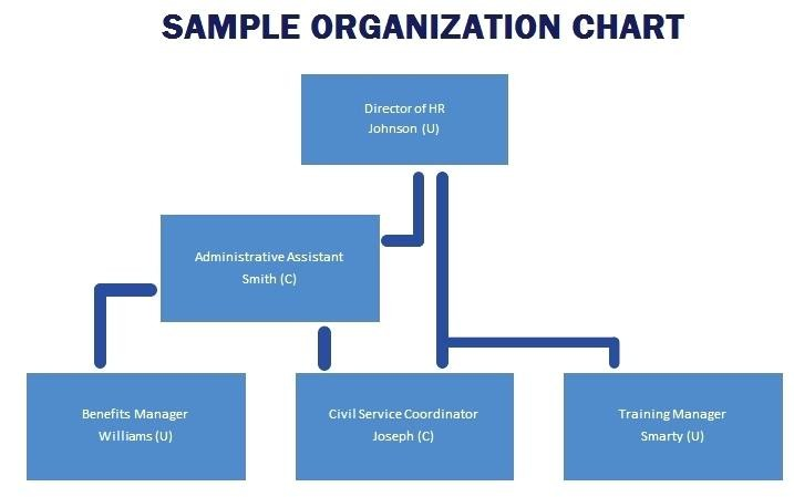 Small Business Organizational Chart Sample Company Org