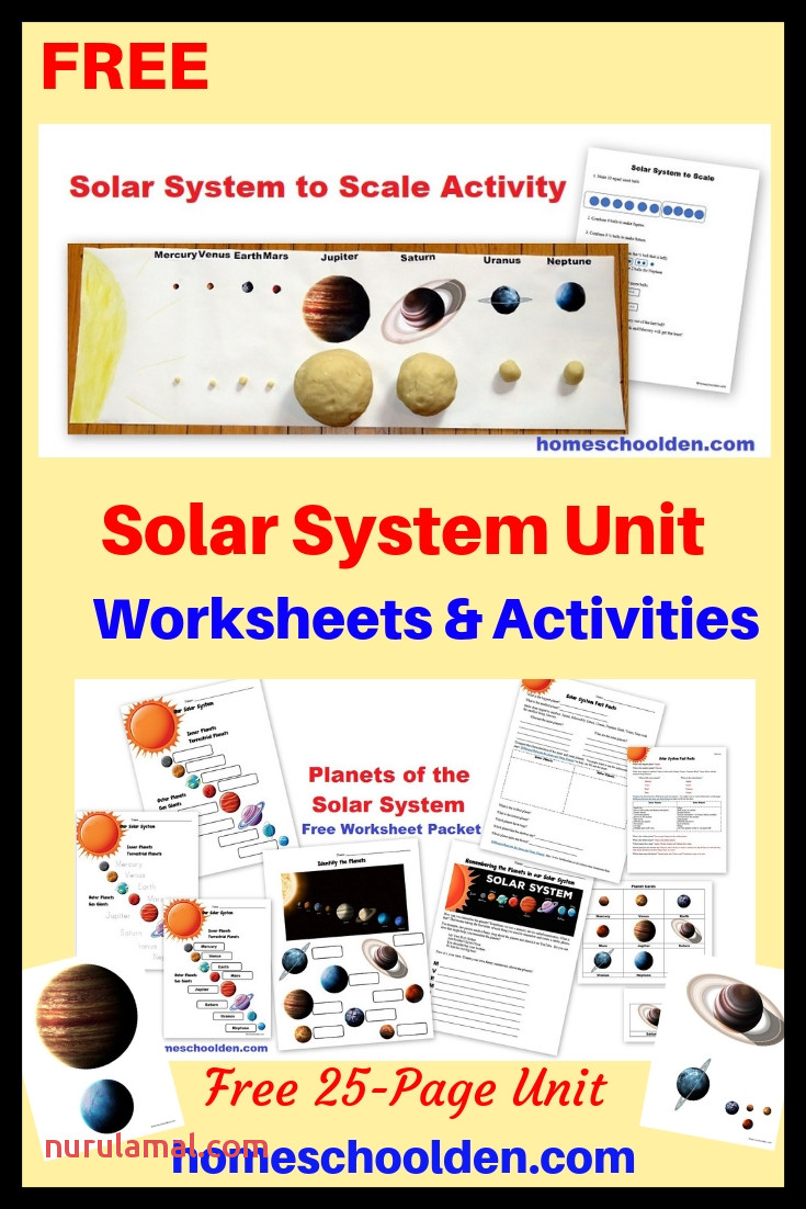 Solar System Activities and Free solar System Printables