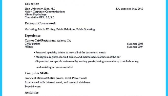Sophisticated Barista Resume Sample That Leads To