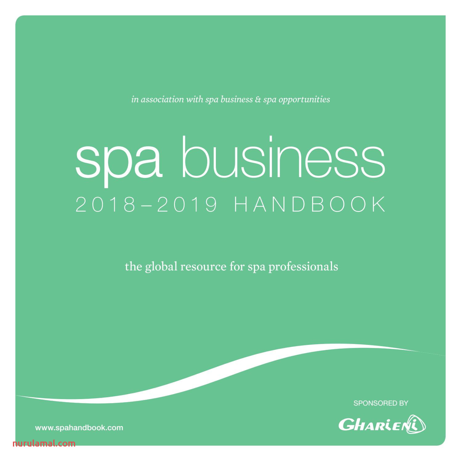 Spa Business Handbook 2018 19 by Leisure Media issuu