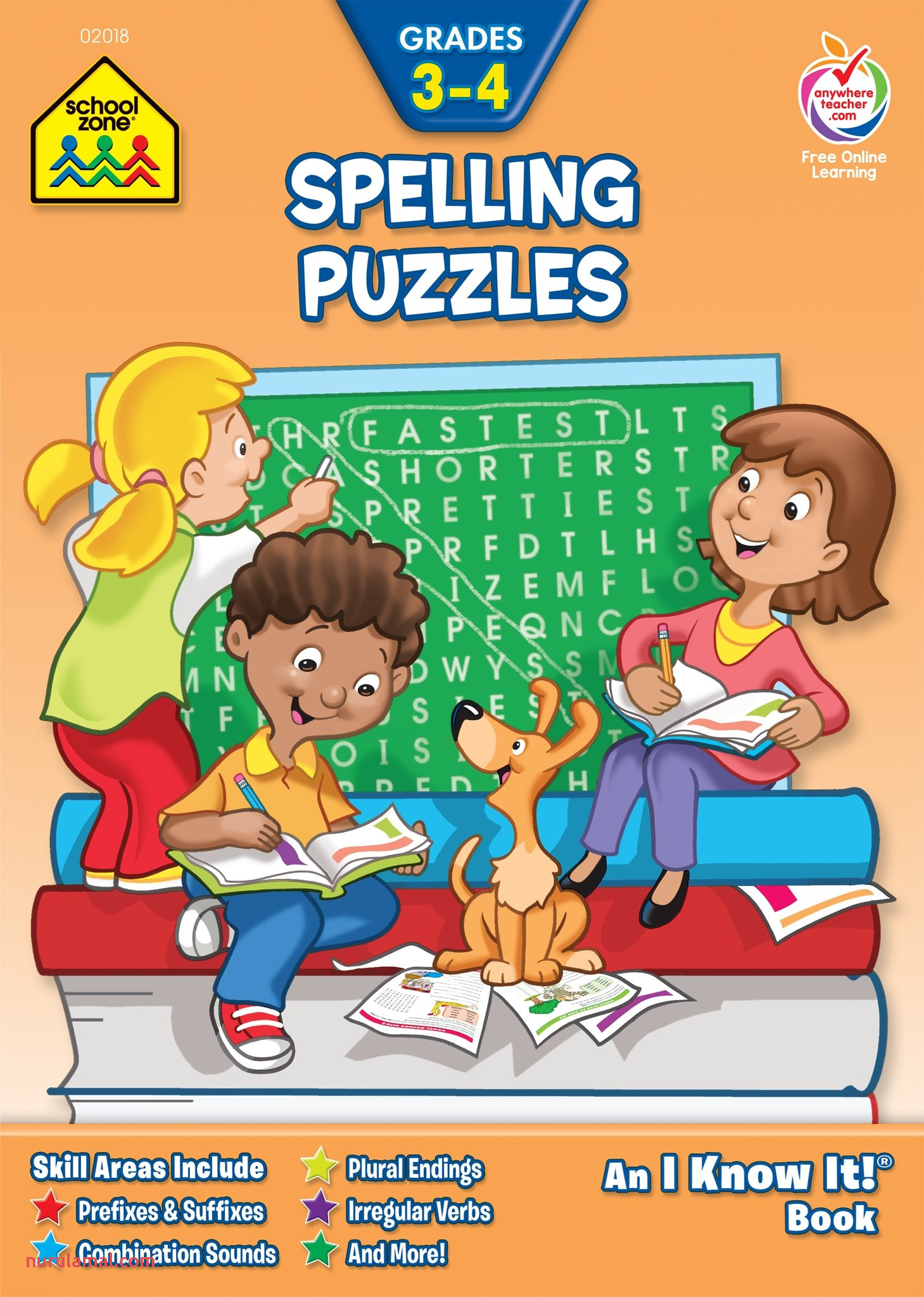 Spelling Puzzles Grade 3 4 An I Know It Books Amazon
